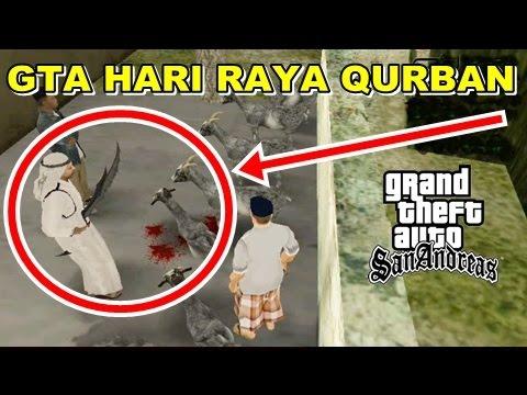 GTA Hari Raya Qurban Lebaran Idul Adha Motong Kambing!