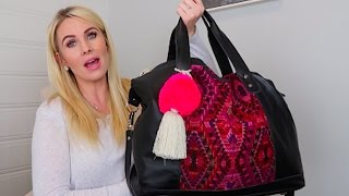 What's in my hospital bag? Official Name reveal!