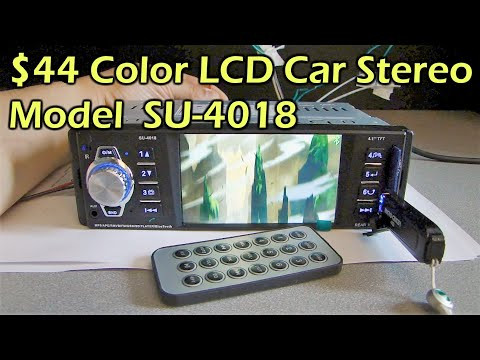 Xxx Mp4 40 Color 4 1 Quot LCD Bluetooth MP3 MP4 Car Stereo Model SU 4018 Gearbest 3gp Sex