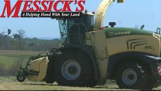 Krone Big X 480 in the Field | Messick's (4k video)