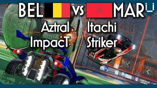 First Ever Africa vs EU 2v2 | Morocco vs Belgium | Rocket League
