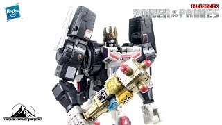 Optibotimus Reviews: 2018 SDCC Transformers Power of the Primes THRONE OF THE PRIMES