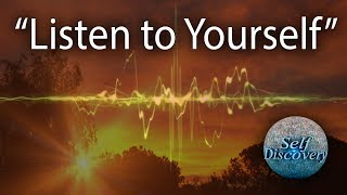 Listen to Yourself | Prem Rawat | Self Discovery | Ep 73 | 24 Sep'17