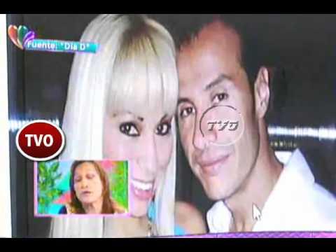 Ruth Cecilia Otiniano madre de Gino Tello con Magaly Medina