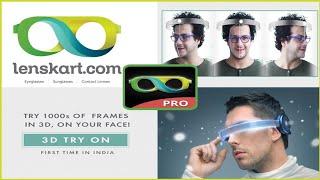 Lenskart 3D try on app tutorial in hindi | Lenskart Apk | Lenskart App tutorial