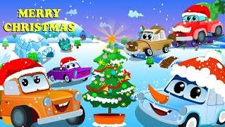 Zeek and Friends | We Wish You Merry Christmas | Car Rhymes
