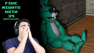 I CAUGHT HIM TOUCHING THE D... AGAIN!!! - Five Nights With 39: Anniversary (Nights 5 & 6)
