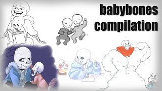 Baby Bones Compilation - Undertale Comic Dubs