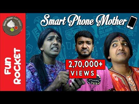 Xxx Mp4 Smart Phone Mother Comedy Short Film Fun Rocket Episode 17 Kannada Comedy Videos Neer Dose 3gp Sex