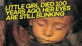 Little Girl DIED 100 Years Ago, But Still Blinks Her Eyes