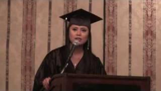 Graduation Speech by Lailani Navarro