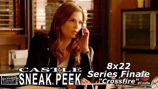 """Castle 8x22 Sneak Peek #2 Series Finale - Castle Season  8 Episode 22  """"Crossfire"""""""