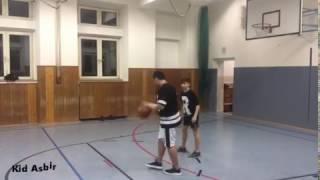 Basketball spiel kid Asbir vs Daniel
