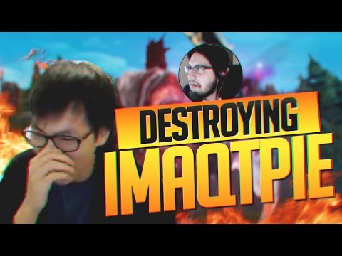 Doublelift DESTROYING IMAQTPIE FELT SO BAD FOR HIM