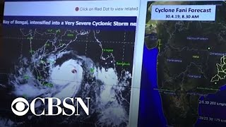 India braces for most powerful cyclone in 20 years