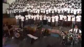 HHP performs Harambe with the Young Voices South Africa Choir