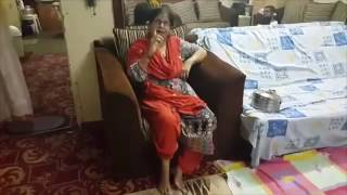 Angry aunty on Pakistan's defeat by India in Champions Trophy 2017