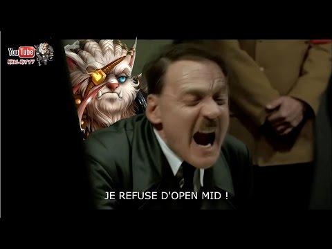 [FR] Hitler devient fou à cause de Rengar ! - [League of Legends] [Parodie]