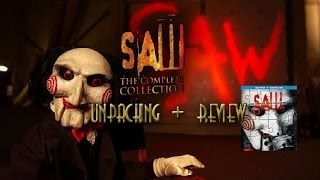 Saw the Complete Collection Blu-Ray unpacking + review