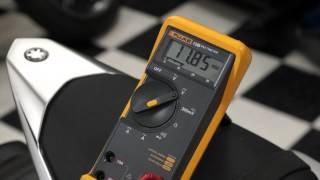 Yamaha Fuel Injector Testing