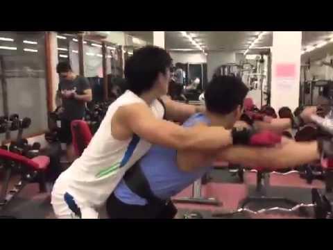 Thailand Sexy Gym Gay