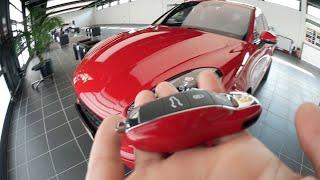 VLOG #14: Picking Up Our New Car ( Porsche Macan GTS )+Factory Tour