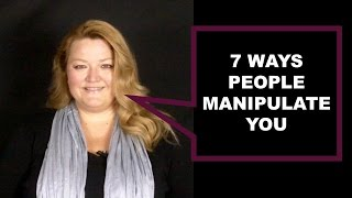 7 Methods of Manipulation