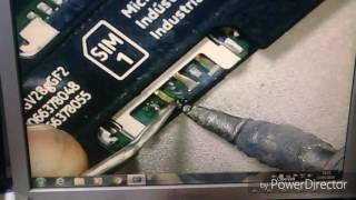 Lumia 630 reparo no leitor do chip.