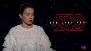 Daisy Ridley talks about latest Star Wars: The Last Jedi