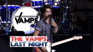The Vamps - 'Last Night' (Live At Jingle Bell Ball 2015)