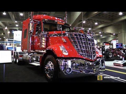 2015 International LoneStar Truck with Cummins ISX 450hp Engine Exterior Interior Walkaround