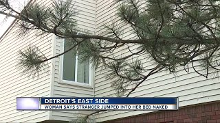 Midtown Detroit woman finds naked man in her bed after he broke in