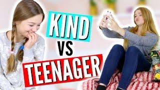KIND VS TEENAGER // FRÜHER VS HEUTE | Julia Beautx