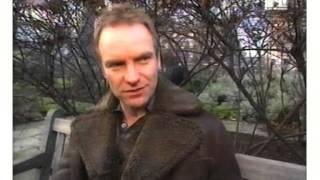 Sting Interview 1996 MTV