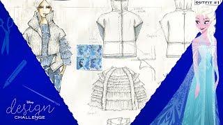 Otis Fashion Students Take On Disney Design Challenge Frozen Fashion | Disney Style