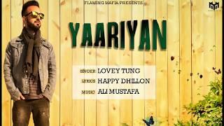 New+Punjabi+Songs+2018+%7C+Yaariyan+%7C+Lovey+Tung+%7C+Ali+Mustafa+%7C+Latest+Punjabi+Songs+2018