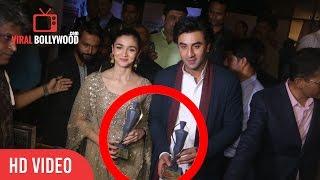 Alia Bhatt And Ranbir Kapoor Wins Maharashtrian Of the Year 2017 Awards