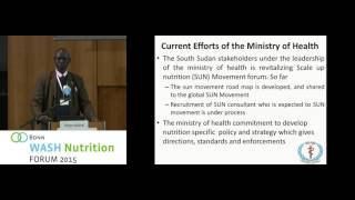 Bonn WASH Nut - Mirror Session 4: Country Case South Sudan (Peter Mahal)