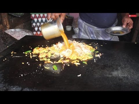 South indian famous Street food Kothu parotta / VILLAGE FOOD FACTORY / STREET FOODS
