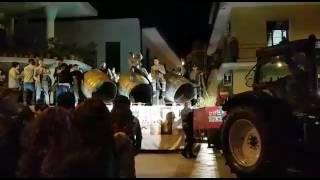 Esibizione in piazza A cumpagnij e na vot carnevale bellona 2017 ❤