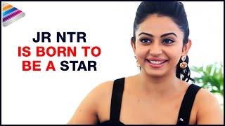 Jr NTR was born to be a star Says Rakul Preet | Straight with Swapna | Rakul Preet Interview