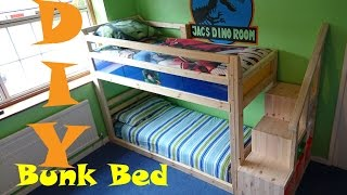 Chatters DIY Bunk Bed (under £80)