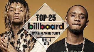 Top 25 • Billboard Rap Songs • April 14, 2018   Streaming-Charts