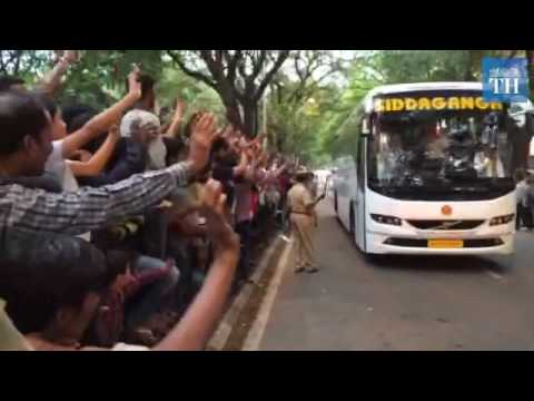 IPL final 2016: RCB and SRH arrive at the stadium