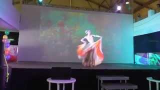 Leena Goel-Amrapali-Russia-Bollywood party-dancing Anna Vasilyeva