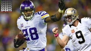 Adrian Peterson Signs With the Saints