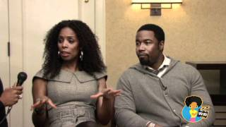 Tasha Smith & Michael Jai White - Tyler Perry's For Better Or Worse (The Reelblack Interview)