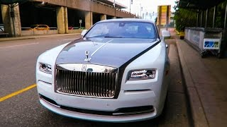 Travie Travels - Driving a Rolls-Royce WRAITH!
