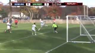 LIU Post Pioneers Men's Soccer Top-10 Goals of 2013