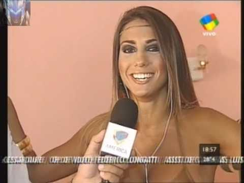 Cinthia Fernandez infartante para Intrusos 28 01 11